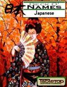 Deck O' Names - Japanese