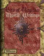 Bits of Magicka: Mystic Writings