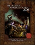 The One Page Dungeon Codex 2009, Deluxe