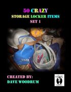 50 Crazy Storage Locker Items, Set 1
