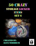 50 Crazy Storage Locker Items, Set 6