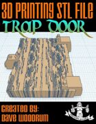 Trap Door (STL 3D Print File)