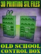 Old School Control Boxes (3D Printing)