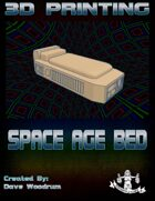 Space Age Bed (3D Printing)