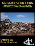 100 Scrapyard Finds