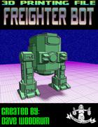 Freighter Bot (3D Print: STL)