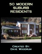 50 Modern Suburb Residents