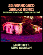 50 Abandoned Suburb Homes