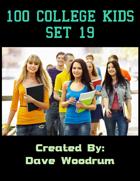 100 College Kids Set 19