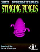 Stinging Fungus (3D Print: STL)