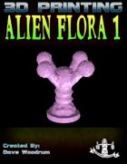 Alien Flora 1 (3D Print: STL)