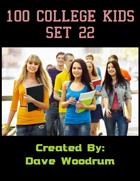 100 College Kids Set 22