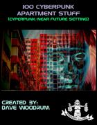 100 Cyberpunk Apartment Stuff