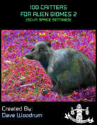 100 Critters for Alien Biomes 2