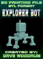 3D Print File: Explorer Bot