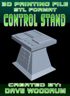3D Print File: Control Stand