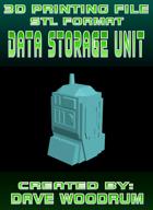 3D Print File: Data Storage Unit