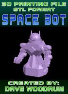 3D Print File: Space Bot