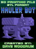 3D Print File: Hauler Bot
