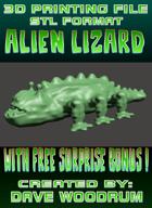 3D Print File: Alien Lizard (With Free Bonus!)