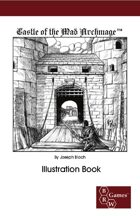 Castle of the Mad Archmage Illustration Book