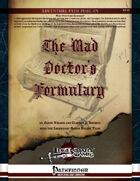 The Mad Doctor's Formulary (Landscape)