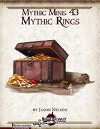 Mythic Minis 43: Mythic Rings