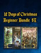 12 Days of Christmas Beginner Bundle (5E) [BUNDLE]