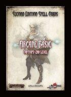 Second Edition Spell Cards: Arcane Basic
