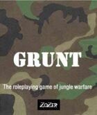 Grunt - Roleplaying in the Vietnam War
