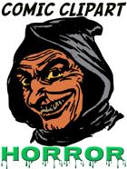 Comic Clipart: Horror