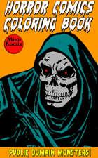 Horror Comics Coloring Book