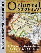 Oriental Stories, Vol. 3: A Texan in Afghanistan