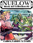 NUELOW Stock Art Collection #2: Dames, Danger & Death