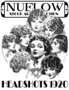 NUELOW Stock Art Collection:  Headshots 1920