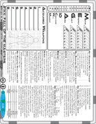 21XX: Fall of the Masters - Two Page Tabletop