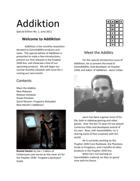 Addiktion, Special Edition No. 1