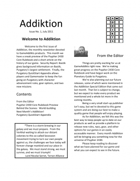 Addiktion, Issue No. 1