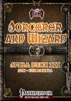 Sorcerer/Wizard Spell Deck III (5th-6th)