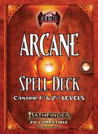 Pathfinder 2 - Arcane Tradition Spell Deck I [Cantrips -2nd]