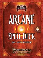 Pathfinder 2 - Arcane Tradition Spell Deck II [3rd - 5th]