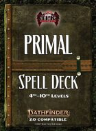 Pathfinder 2 - Primal Tradition Spell Deck II [4th - 10th]