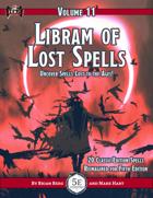 Libram of Lost Spells, vol. 11