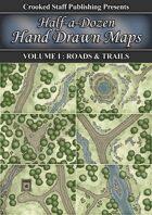 Half-a-dozen Hand Drawn Maps (vol.1)