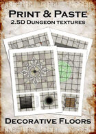 Print & Paste Dungeon textures: Decorative Floors