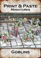 Print & Paste Miniatures: Goblins