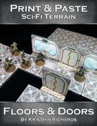 Print & Paste Sci-Fi Terrain : Floors & Doors