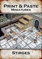 Print & Paste Miniatures: Stirges