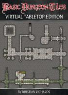 Basic Dungeon Tiles : VTT Edition