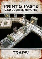 Print & Paste Dungeon textures: TRAPS!